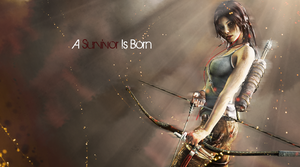 Lara Croft One And Only Original Wallpaper by BobbaCroft12345