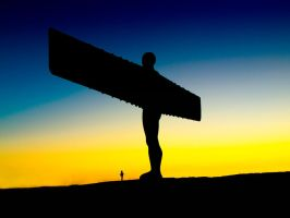 Angel of the North by mant01