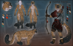 Feline archer auction [closed] by Umbrafen
