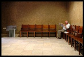 waiting room by soundgardenia