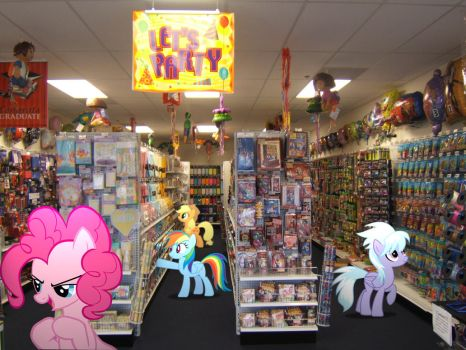 Ponies at the party store by HAchaosagent