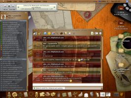 Indiana Jones Themed Mac by Lycanstrife