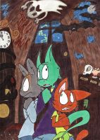 Haunted House by Socks-and-Notebooks