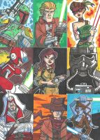 Sketch Book Cards - 04 by JoeHoganArt