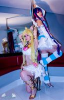 Fly Away Now! Panty and Stocking Cosplay by Angel--Arwen