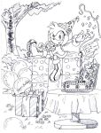 Amy Rose 18th anniversary by SMSSkullLeader