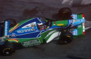 Michael Schumacher (1994) by F1-history