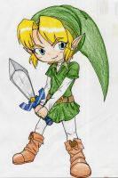 Chibi Link by iluvcookiess