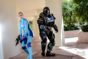 Samus Spartan Crossover by CLeigh-Cosplay