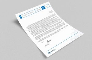 Corporate Letterhead vol.25 with MS Word DOC/DOCX by nazdrag