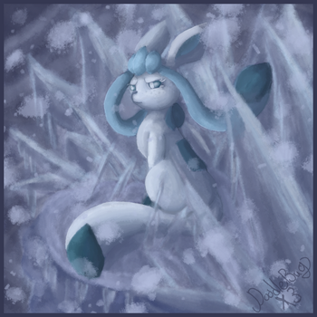 Glaceon by DoodleBugsNotebook
