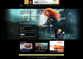 Brave Page Design by ChubbaART