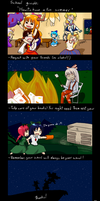 Touhou - School guide comic by darkyivy