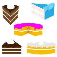 Pieces of Cake by DrawDesign