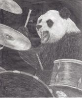 Rock N Roll Panda by MyTrueStory