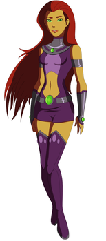 Young Justice: Starfire by AMTModollas