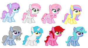 Adoptable Fillies!!!SOLD!!! by MintMuffins