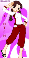 Happy -very late- Tenten Day by neopuff