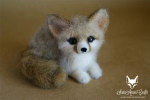 fennec fox by SaniAmaniCrafts
