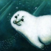 Baby, baby, baby Seal! by WinterImp