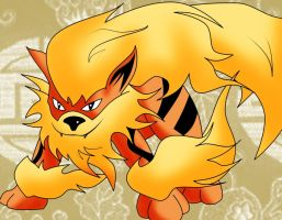 Request - Arcanine by Lucky-JJ