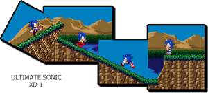 Ultimate Sonic FanGame - SLOPES,SLOPES,AND SLOPES by triplesonicX
