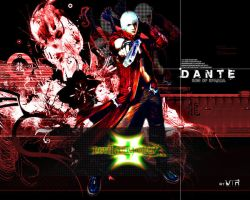 Devil May Cry 3 Dante by Bewolf
