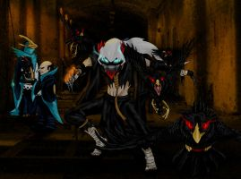 Noivernman Villains- The Birds by DragonlordRynn