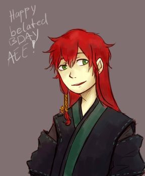 Happy belated bday Ae by Souruuriin