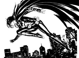 Black Bat by ronsalas