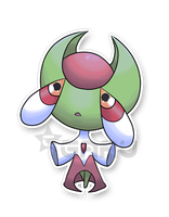 The Maiko Fakemon by Neliorra
