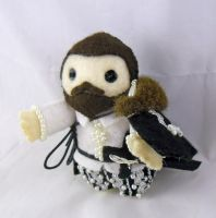 Sir Walter Raleigh by deridolls