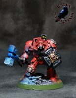 Blood Angels Assault Terminator by SoulRebel9