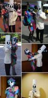 Grim Fandango Costumes - DONE by amygirlgermanpants