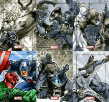 Marvel Heroes and Villains 12 by RichardCox