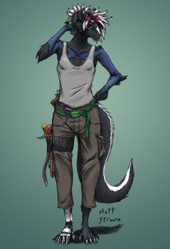 Mareth Colored by Faullyn