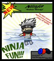 Ninja Water Wings by PrincessRinielle