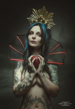 The evil queen by Grooveinjector