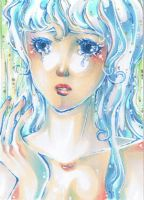 Forevermore - ACEO No 52 by PiuPiuThePENGUIN