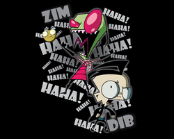Invader Zim 12801024 Wallpaper by Chaossity