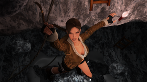 Lara Croft in danger by James--C