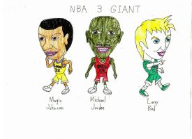 NBA 3 GIANT by AMERICAN5000