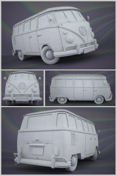VW Samba Clay by JambioO