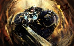 Starcraft marine by VitoSs