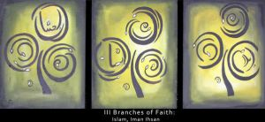 III Branches of Faith by whisperedpeace