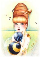 Honey Bee by JessicaDunn
