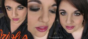 Valentine's Day Makeup #2 - Smokey Brown Eye by Cinnamoncandy