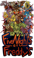 Five Nights At Freddy's by WanderingRanger128