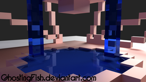 Blocky render 2 by GhostingFish