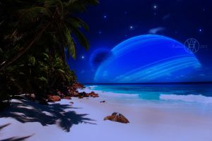 Alien beach by arthas2103